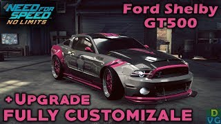 NFS No Limits | Ford Shelby GT500 - FULLY CUSTOMIZABLE + Upgrade