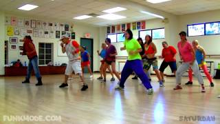 Feels Good - Tony! Toni! Toné! - FUNKMODE Adult Hip Hop (New Jack Swing) Dance Class - May 2012