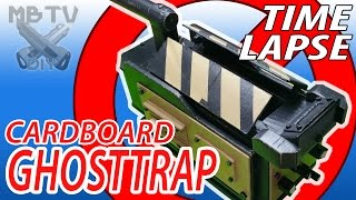 ghostbusters movie full timelapse diy cardboard ghost trap fully mechanized