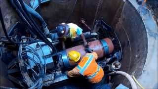 Microtunneling Clay Pipe, Trenchless Installation with Akkerman GBM