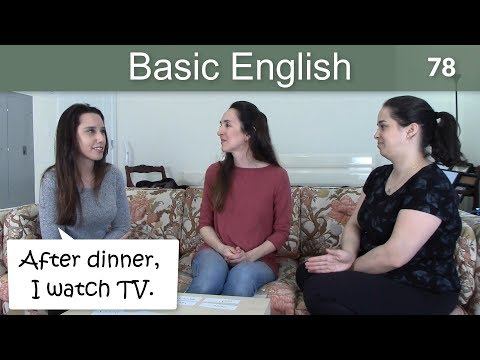 Lesson 78 ????? Basic English with Jennifer Using?BEFORE and AFTER
