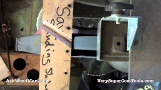How To Sharpen Large Drill Bits Using A Jig