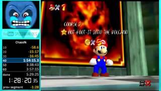 "Super Mario 64 Chaos Edition: 70 Star ""World Record"" in 2:32:22"