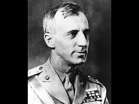 "Hooper's Heroes - GENERAL SMEDLEY BUTLER - U.S. Marines - ""The Business Plot"" 1934 Newsreel"