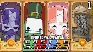 Welcome Back To CASTLE CRASHERS! (Castle Crashers: Year 4 - Part 1) thumbnail