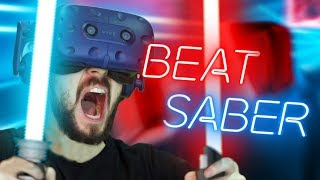 AM I A KPOP YET!? | Beat Saber #2 (HTC Vive Virtual Reality)