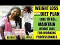 FAT LOSS DIET PLAN | Working Professionals | Lose 10 Kg | (ft. Kantri Guyz)