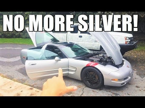 The World's CHEAPEST C5 Corvette Gets A NEW COLOR!!! (NOT Yellow)