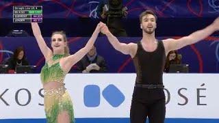 Le programme court de Gabriella Papadakis et Guillaume Cizeron - Mondiaux de patinage artistique