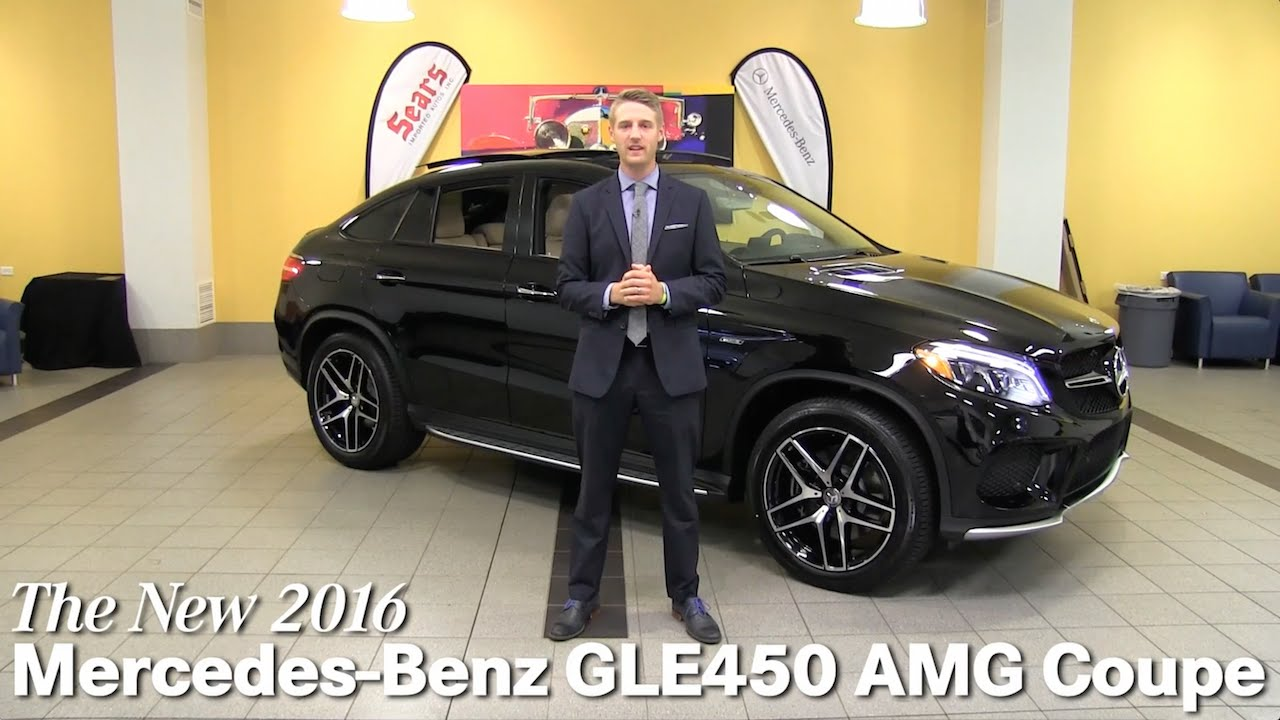 Review new 2016 mercedes benz gle450 amg coupe gle class for Mercedes benz bloomington mn