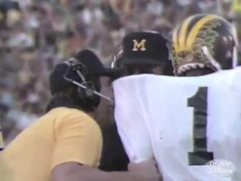 1981 Rose Bowl Anthony Carter TD Call