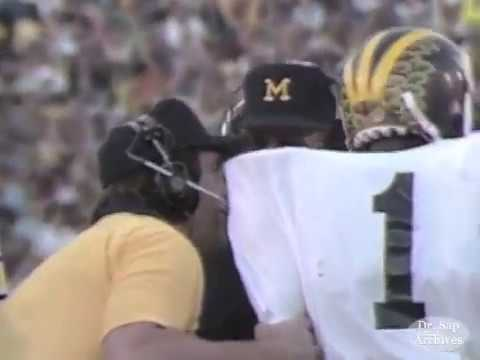 1981 Rose Bowl Anthony Carter TD Call