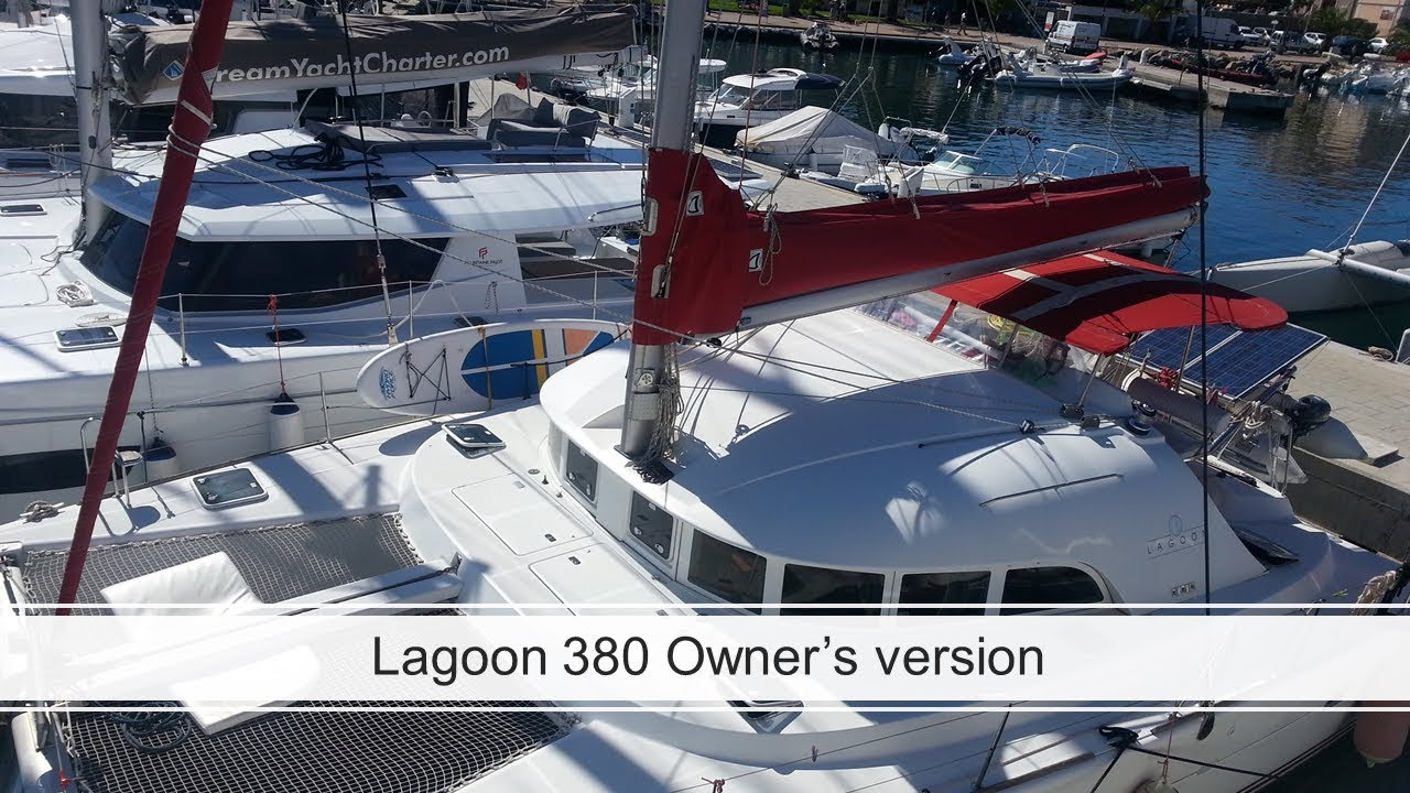 For Sale - Lagoon 380 Owner's Version