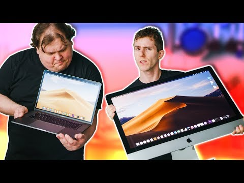 Apple iMac 2019 vs Tricked-Out Macbook Pro