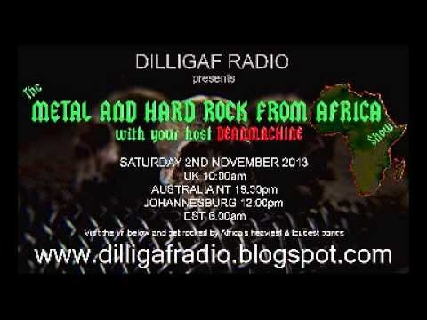 The Metal & Hard Rock From Africa Show Episode 1 part 1