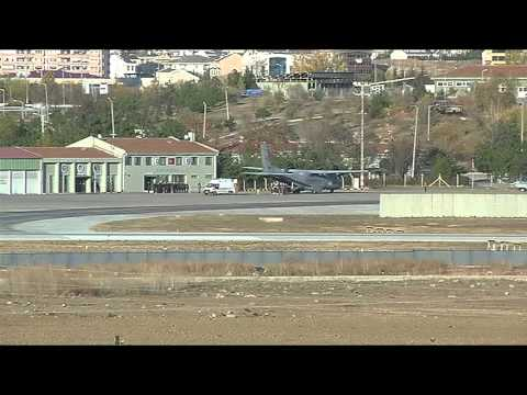 Body of Russian pilot is transferred to Turkey's Ankara