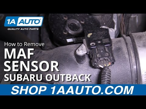 How to Replace Mass Air Flow Sensor 10-14 Subaru Outback