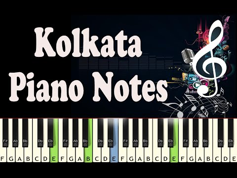 Kolkata (Praktan) - Piano Notes - Music Sheet