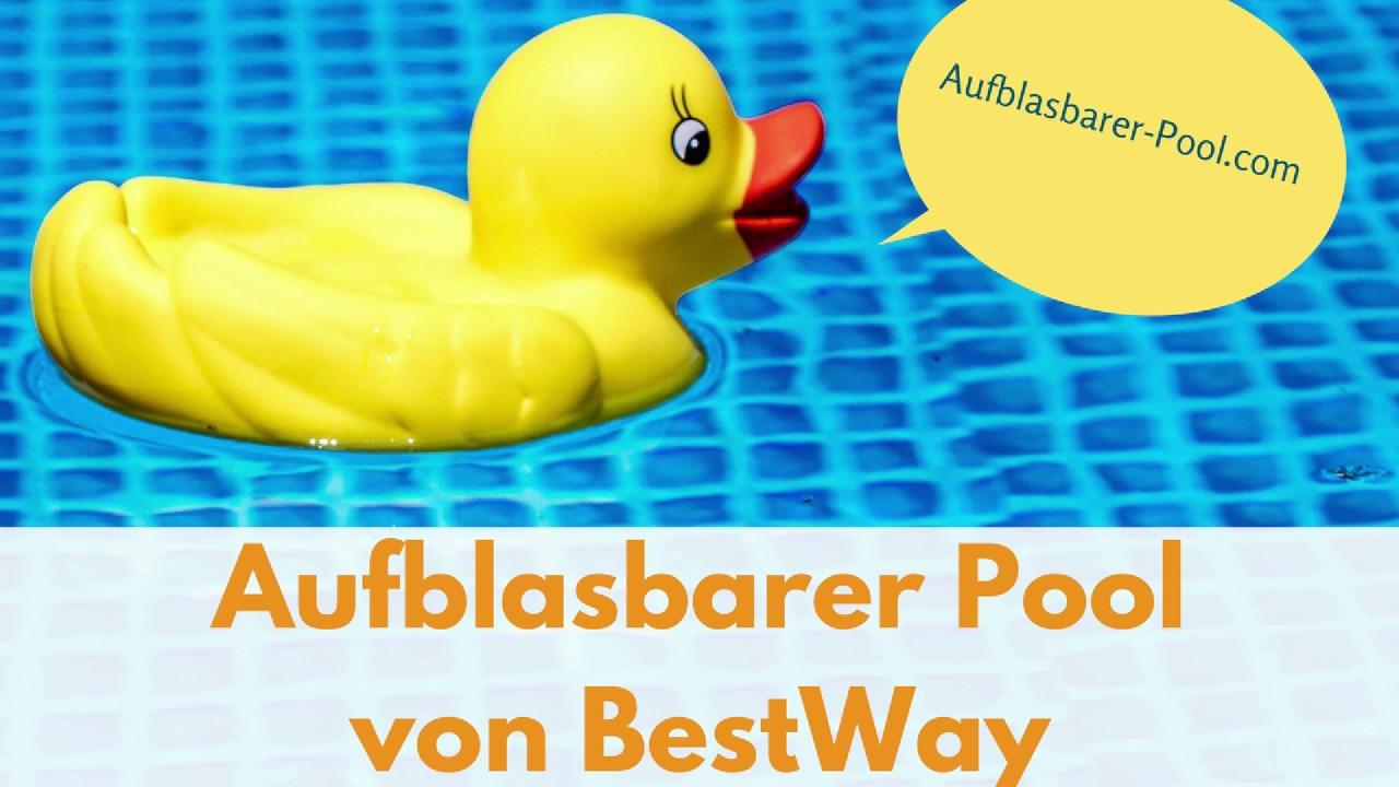 Wundervoll aufblasbarer Pool bestway - YouTube WD44