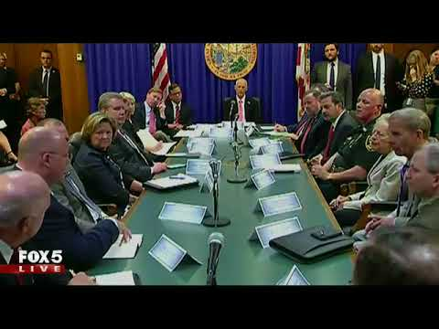 Florida governor hosts round-table discussion on school violence