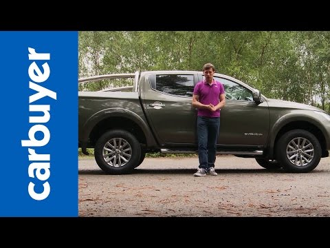 Mitsubishi L200 pickup review – Carbuyer