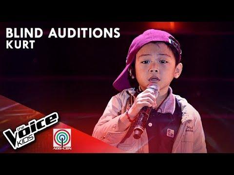 Kurt Ceda - Buwan   Blind Auditions   The Voice Kids Philippines Season 4