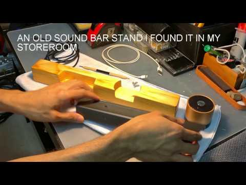 Build a Charging Wooden Stand For My Mobile Phone And Bluetooth Speaker DIY
