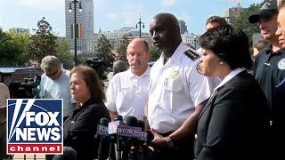 New Orleans officials hold a press conference on Hard Rock hotel collapse