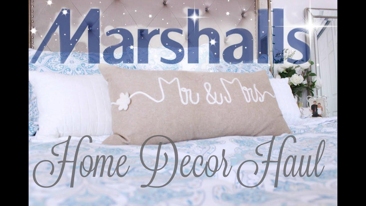 Huge Marshalls Home Decor Haul - YouTube