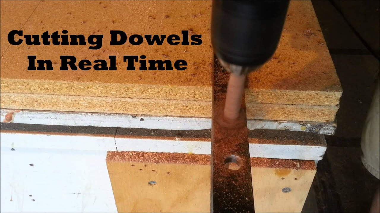 How to make a dowel simple method youtube for Diy to make money