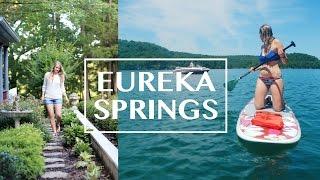 Eureka Spring, Arkansas | Rose Cottage Tour | Beaver Lake
