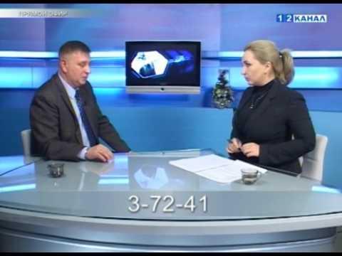 Гость в студии  Глава Берёзовского городского округа   Д А Титов 29 12