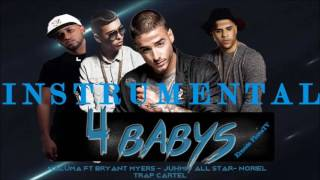 4 Babys instrumental - Maluma ft Noriel, Bryant Myers, Juhn (Original)