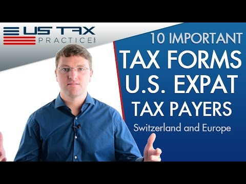 US Tax Forms For Expats