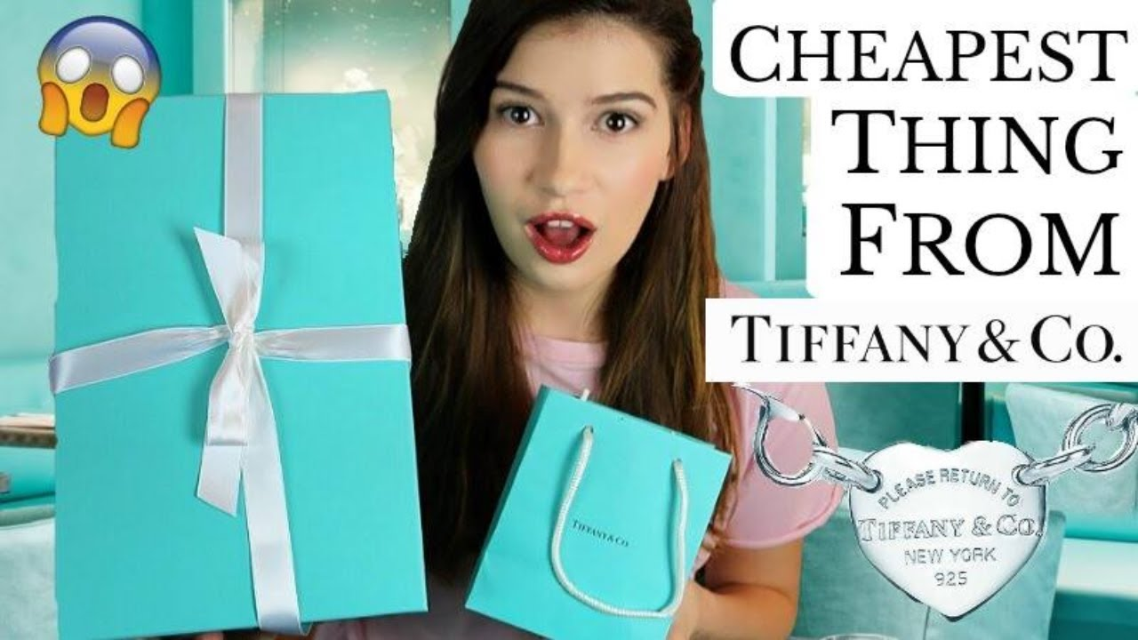 e8f37ca44c61 I Buy The Cheapest Thing On Tiffany   Co! - YouTube
