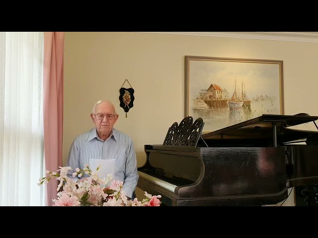 Jesus in my Life - Hymns Peter McLean 2nd May 2021