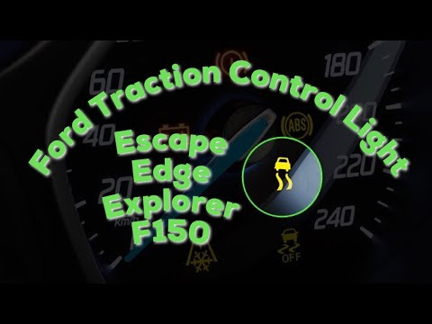 Ford/Lincoln Traction Control Light Problem Solving