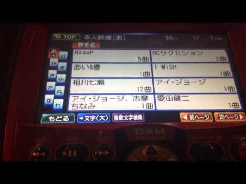 DAM karaoke カラオケ リモコン
