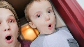 Toddlers Reaction To A Thunder Storm!