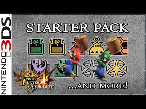 """LZ : Monster Hunter 4 Ultimate [Starter Pack: free items and a """"Super"""" surprise]"""