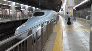 みずほ613号(九州直通最終列車)・博多駅を発車