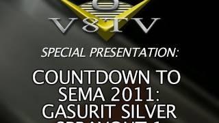 1968 Camaro Countdown to SEMA 2011 V8TV Video:  Spraying Glasurit Silver Paint!