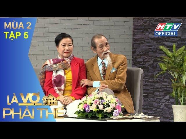 HTV LÀ VỢ PHẢI THẾ 2 | Hùng Thuận tự trách mình khi gia đình đổ vỡ | LVPT #5 FULL | 8/5/2018
