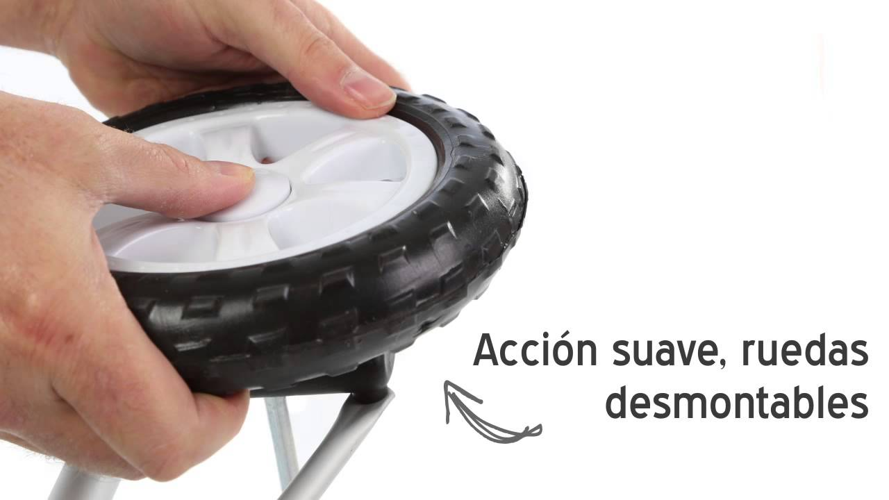 Coolmovers carros de compras plegables youtube for Compra de sillas plegables
