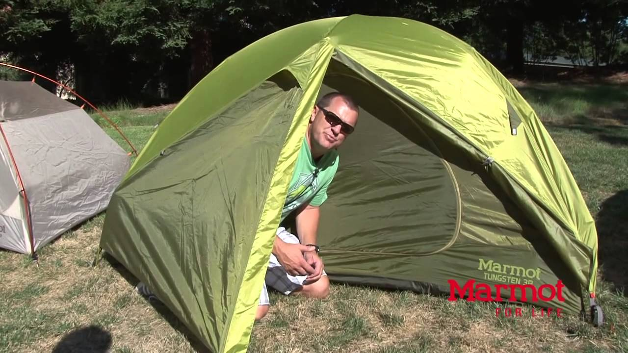 Marmot Tungsten 3P Tent - YouTube
