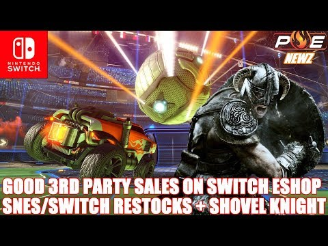 Nintendo Switch - Major 3rd Party Selling BIG On EShop! Toys