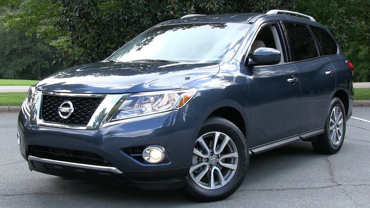 2015 nissan pathfinder start up, road test, and in depth review