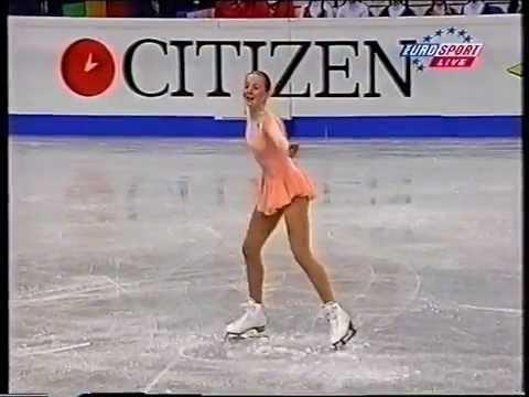 Sarah Hughes USA - 1999 World Championships SP