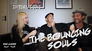 Interview With The Bouncing Souls - Recording An Acoustic Record, Crucial Moments & Vegan Pizza