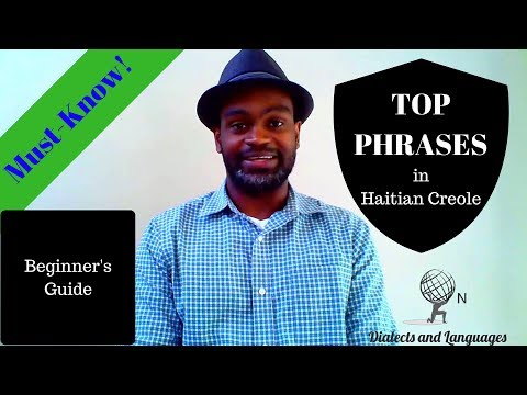 ON Haitian Creole - Top Must-Know Haitian Creole Words and P